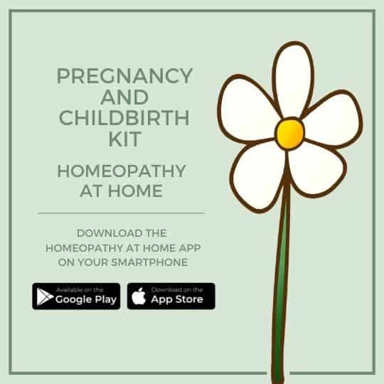 pregnancy and childbirth homeopathy kit